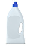 Bottle of detergent. One detergent bottle with an empty label (3d render Royalty Free Stock Image