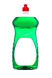 Bottle of dish washing Stock Photography
