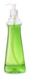 Bottle of dishwashing liquid detergent  on white backgro Stock Image