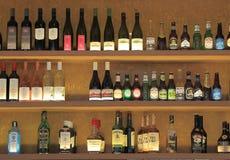 Bottles at Bar  Stock Photos