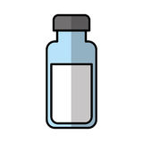 Bottle drink isolated icon Stock Photos