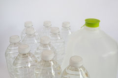 Bottle of drink water Royalty Free Stock Photography