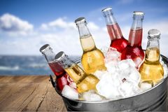 Bottle Drinks Royalty Free Stock Image