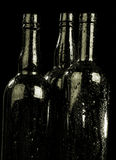 Bottle and drops Royalty Free Stock Images