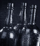 Bottle and drops Royalty Free Stock Photography