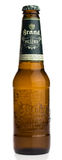 Bottle of Dutch Brand Pilsener beer Stock Images