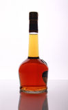 Bottle elite cognac Royalty Free Stock Images