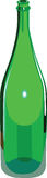 Bottle. Empty wine bottle without a label Royalty Free Stock Images