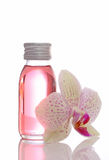 Bottle with essential oils Stock Photography
