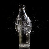 Bottle explosion Royalty Free Stock Images