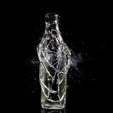 Bottle explosion Stock Photo