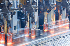 Bottle factory Royalty Free Stock Photo