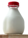 Bottle of Farm Fresh Milk Royalty Free Stock Photos