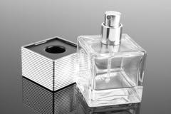 Bottle of fashion perfume Stock Photography