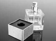Bottle of fashion perfume Stock Photos
