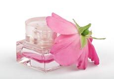 Bottle female perfume Stock Photo