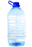 Bottle of five liters clear water. Isolated on white Stock Photo
