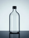 Bottle on floor. 3d Scene with Bottle on floor Stock Images