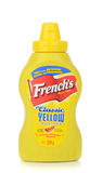 A bottle of French`s American hotdog mustard Stock Photo