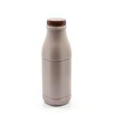 Bottle of fresh milk chocolate Stock Photos