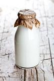 Bottle of fresh milk Stock Photos