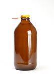 Bottle of fruit juice Stock Photos