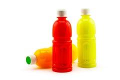 Bottle of fruit juice Royalty Free Stock Photography