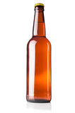 Bottle full of beer Stock Photo