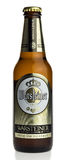 Bottle of German Warsteiner beer Stock Image