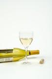 Bottle Glass Cork Stock Photo