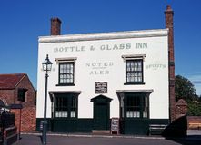 Bottle and Glass Inn, Dudley. Royalty Free Stock Images