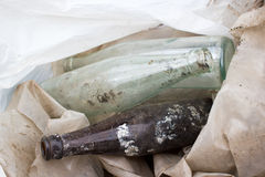 Bottle glass Royalty Free Stock Image