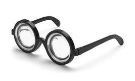 Bottle Glasses Royalty Free Stock Photography