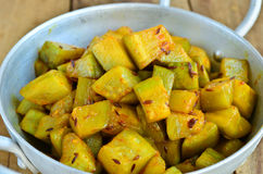 bottle gourd curry Royalty Free Stock Images