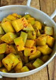 Bottle gourd curry Stock Images