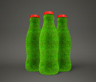 Bottle grass Royalty Free Stock Image
