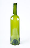 Bottle from green glass Royalty Free Stock Image