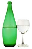 Bottle from green glass Royalty Free Stock Photos