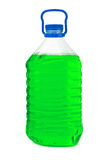 Bottle with green liquid Royalty Free Stock Images