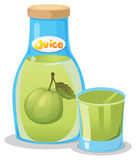 A bottle of guava juice Royalty Free Stock Photo