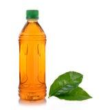 Bottle of ice tea and green tea Stock Photo