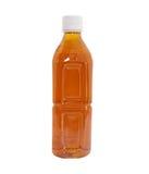Bottle of ice tea stock photography
