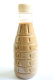 Bottle of iced coffee Stock Images