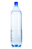 Bottle of iced mineral water Royalty Free Stock Image