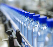 Bottle industry Stock Photography