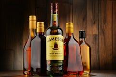 Bottle of Jameson Irish whiskey Stock Photo