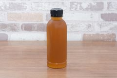 Bottle of jasmine tea Royalty Free Stock Photography