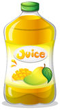 A bottle of juice Royalty Free Stock Image