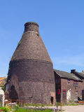 Bottle Kiln. A bottle kiln in the Potteries, Staffs, UK Royalty Free Stock Images