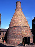 Bottle Kiln, Stoke on Trent. Royalty Free Stock Images
